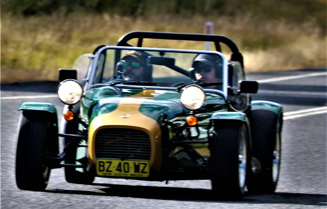 There were plenty of funky low-slung roadsters zipping through our region on Saturday. Does anyone know which club was visiting? Photo: Margosha Photography, Bermagui