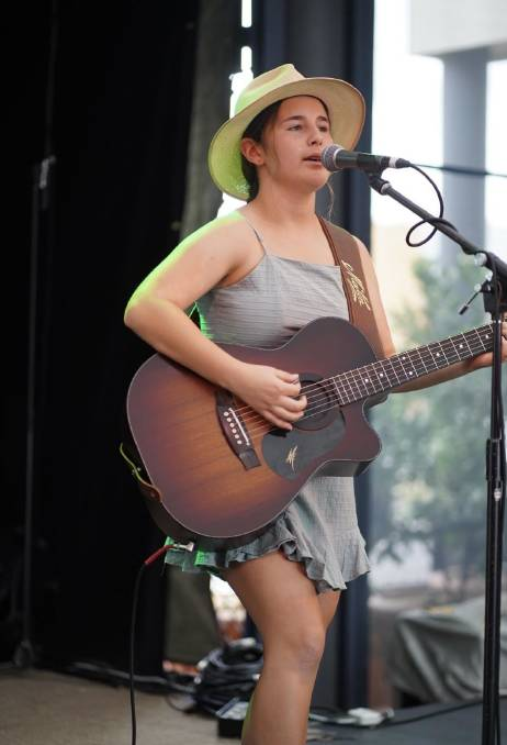 Bega Valley singer/songwriter Felicity Dowd is celebrating her single Blue Skies debuting at number one on the iTunes Country Songs Chart. Photo: Australian Country Music Photography and Videography