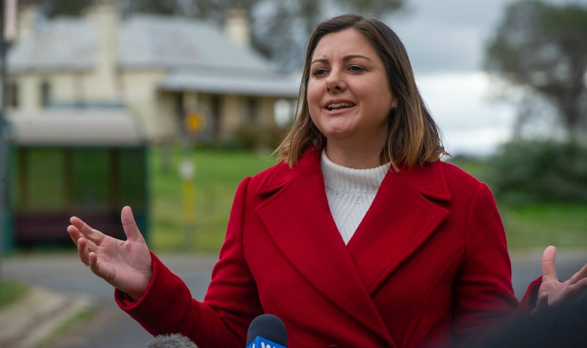 A new poll suggests Kristy McBain will win the Eden-Monaro byelection. Picture: Karleen Minney