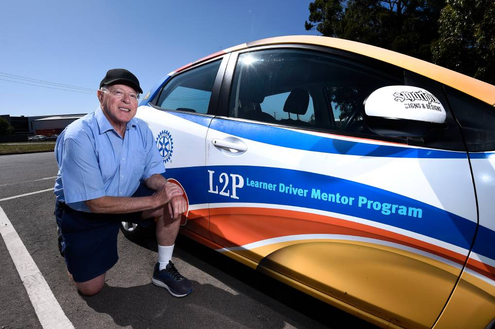 Stuart Bell is an L2P volunteer mentor helping learner drivers reach their required hours to obtain their licence.
